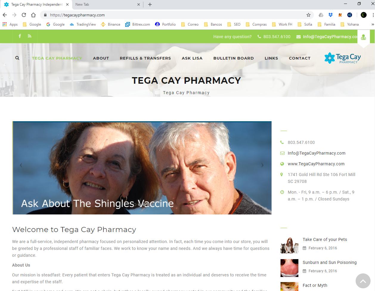 Tegacay Pharmacy