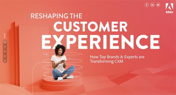 Adobe Reshaping The Customer Experience image.